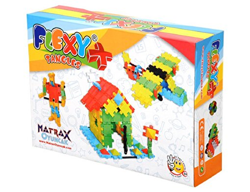 Matrax 129 Parça Flexy Tangles® - Karton Kutuda. ürün görseli