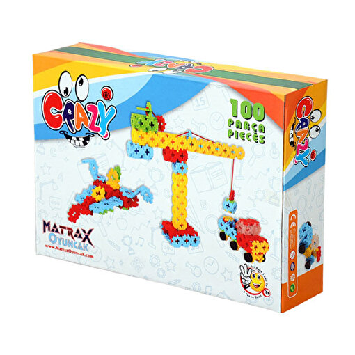 Matrax 100 Parça CRAZY® - Karton Kutuda. ürün görseli