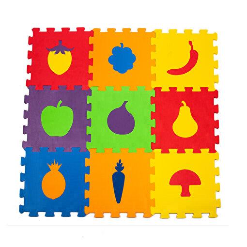 Matrax Eva Puzzle|33x33cm.X 7 Mm.| Meyveler. ürün görseli