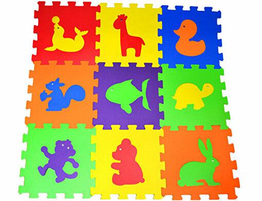Matrax Eva Puzzle|33x33cm.X 7 Mm.| Hayvanlar. ürün görseli