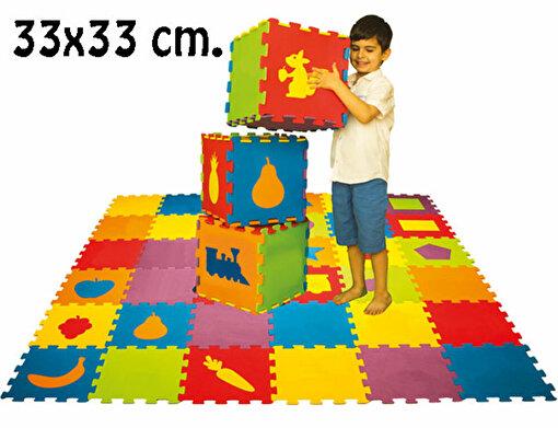 Matrax Polimat Puzzle |33x33cm.X 9 Mm.| Geometrik Şekiller. ürün görseli