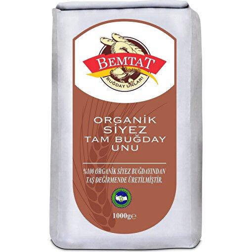 Bemtat Organik Tam Buğday Siyez Unu ( 1 kg ). ürün görseli