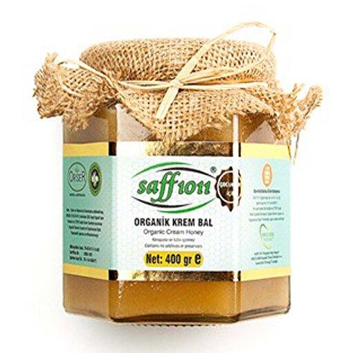 Saff 1011 Organik Krem Bal ( 400 g ). ürün görseli