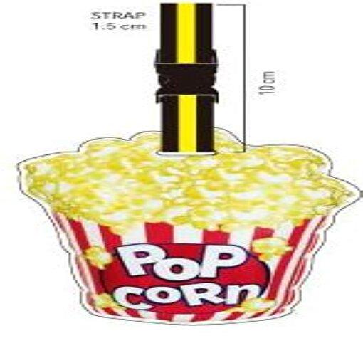 Nektar Lh144 Pop Corn Valiz Etiketi. ürün görseli