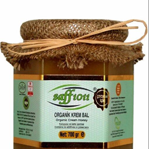 Saff 1011 Organik Krem Bal ( 700 g ). ürün görseli
