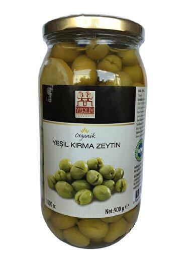 Yerlim Organik Yeşil Kırma Zeytin ( 900 g ). ürün görseli