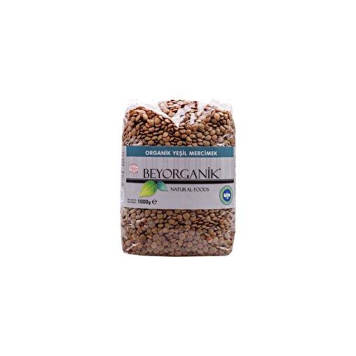 Beyorganik Organik Yeşil Mercimek ( 1 kg ). ürün görseli
