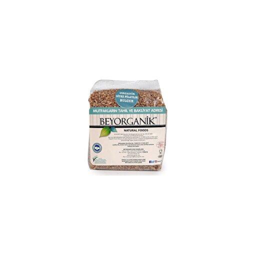 Beyorganik Organik Siyez Pilavlık Bulgur ( 1 kg ). ürün görseli