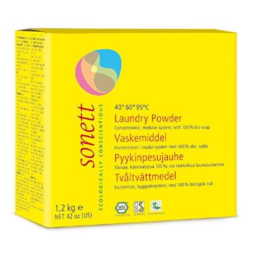 Sonett Organik Çamaşır Yıkama Tozu - Konsantre ( 1.2 kg ). ürün görseli