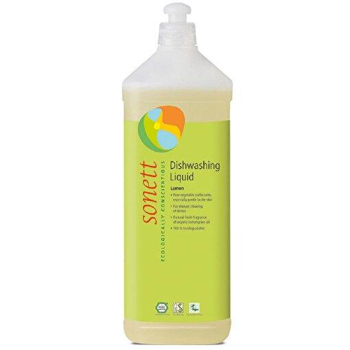 Sonett Organik Elde Bulaşık Yıkama Sıvısı - Limonotlu ( 1 lt ). ürün görseli