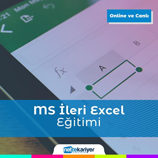 Nette Kariyer Microsoft İleri Excel Eğitimi. ürün görseli
