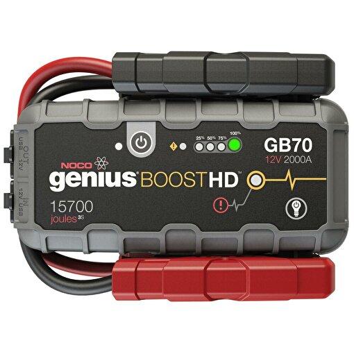 Noco Genius GB70 12V 2000Amp Ultrasafe Lityum Akü Takviye + Powerbank + Led Lamba. ürün görseli