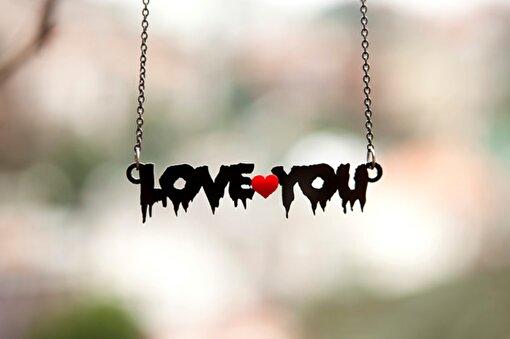 Noramore Love You Kolye. ürün görseli