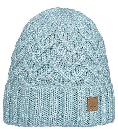 Nordbron Luayn Beanie Kadın Bere Metalik Mavi. ürün görseli