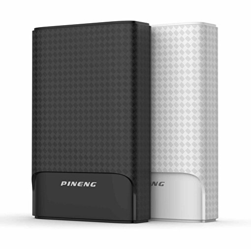 Pineng PN-986PD 10000mAh Powerbank Siyah. ürün görseli