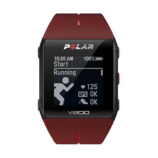 Polar V800 Gps'Li Nabız Kontrol Saati Kırmızı. ürün görseli