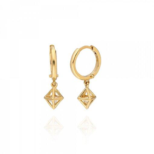 Pink Gold Store Milano Diamond Küpe. ürün görseli