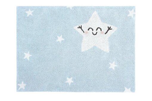 Lorena Canals  Happy Star Çocuk Halısı 120x120cm. ürün görseli