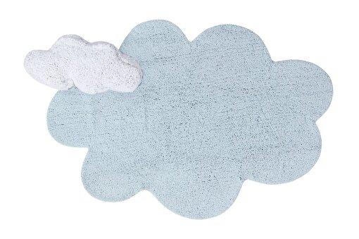 Lorena Canals  Puffy Bulut Mavi Çocuk Halısı 110x170cm. ürün görseli
