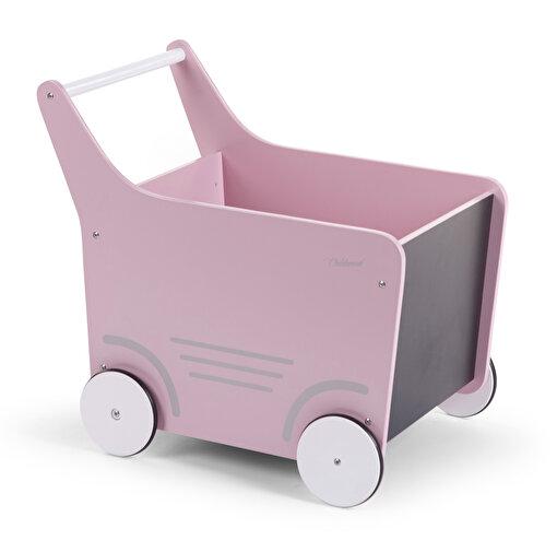 Childhome Ahşap Oyuncak Araba Pembe. ürün görseli