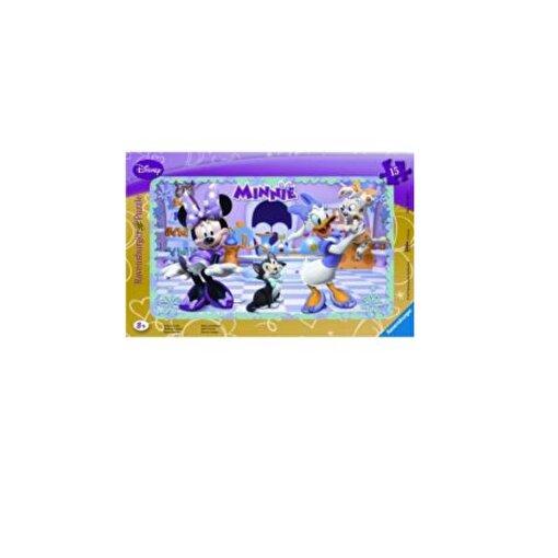 Ravensburger 15 Parçalı Küçük Çerçeveli Puzzle WD-Minnie Mouse. ürün görseli