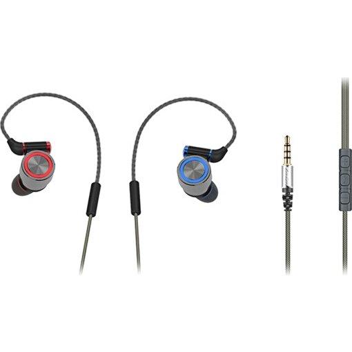 Rampage SN-J8 Elegant  Mobil Telefon Uyumlu Metal Kulak içi Gri Mikrofonlu Kulaklık . ürün görseli
