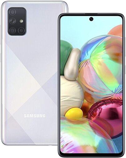 Samsung Galaxy A71 128 GB Cep Telefonu Prisma Silver. ürün görseli