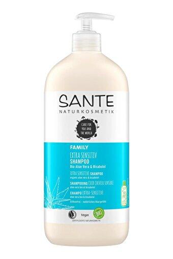 Sante Aşırı Hassas Kişiler Için Özel Şampuan Organik Aloe Vera & Bisabolol Özlü-950ml . ürün görseli