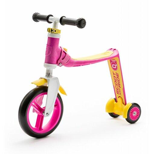 Scoot And Ride Pembe-Sarı Renk Highway Baby Ayarlanabilir Scooter. ürün görseli