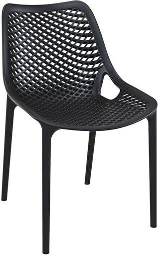 Siesta Air Sandalye Siyah. ürün görseli