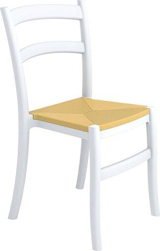 Siesta Tiffany-S Sandalye Beyaz. ürün görseli