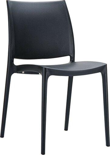 Siesta Maya Sandalye Siyah. ürün görseli