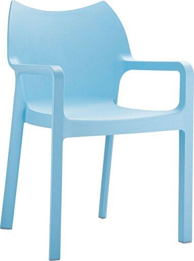 Siesta Diva Sandalye Mavi. ürün görseli