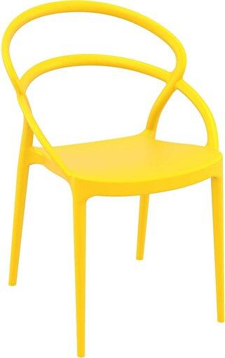 Siesta Pıa Sandalye Sarı. ürün görseli