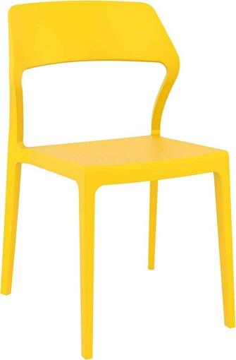 Siesta Snow Sandalye Sarı. ürün görseli