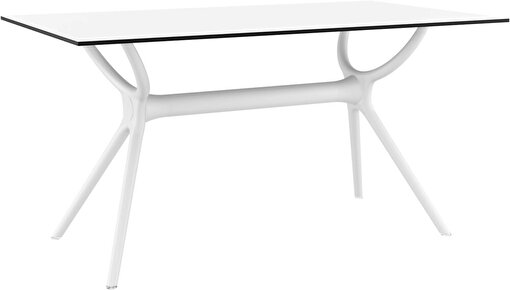 Siesta Air Masa 80x140 Beyaz. ürün görseli
