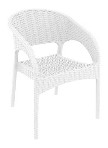 Siesta Panama Koltuk Beyaz. ürün görseli