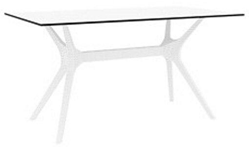 Siesta İbiza Masa 140 Beyaz. ürün görseli