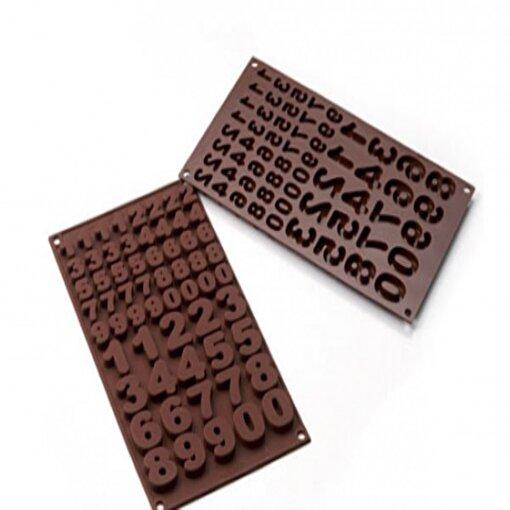 Silikomart 123 Çikolata Kalıbı. ürün görseli