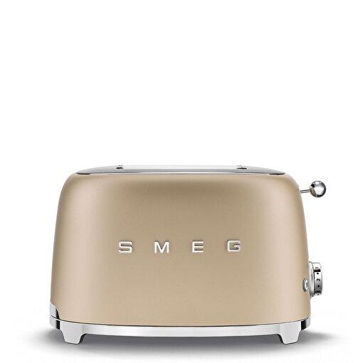 SMEG Mat Gold 1x2 Paslanmaz Çelik Ekmek Kızartma Makinesi. ürün görseli