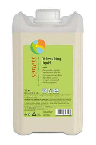 Sonett Organik Elde Bulaşık Yıkama Sıvısı- Limonotlu - 5 L. ürün görseli