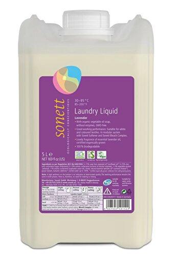 Sonett Organik Çamaşır Yıkama Sıvısı - Lavanta - 5 L. ürün görseli