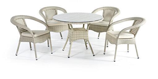 Sette St 78 Kırık Beyaz Masa Takımı. ürün görseli