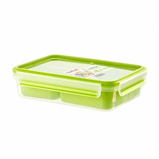 Tefal MasterSeal To Go Plastik Snack 3 Gözlü. ürün görseli