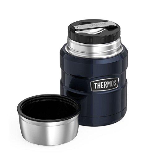 Thermos SK 3000 Çelik Yemek Termosu 470ml. Gece Mavisi 101470. ürün görseli