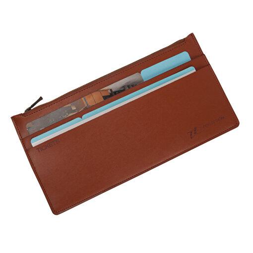 TK Collection Fermuarlı Pasaport Kabı. ürün görseli