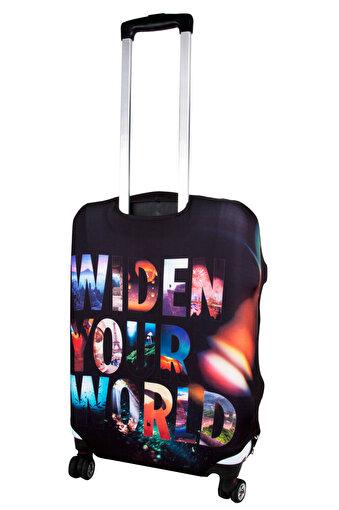 TK Collection Widen Your World Valiz Kılıfı. ürün görseli