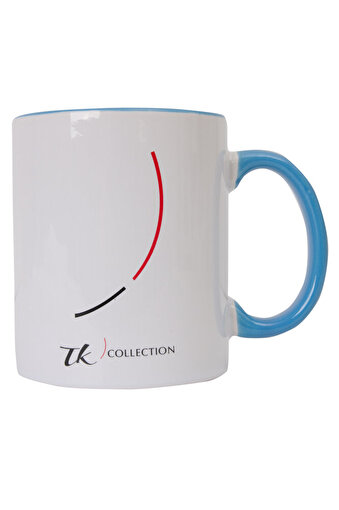 TK Collection Seramik Kupa New Design-Mavi. ürün görseli