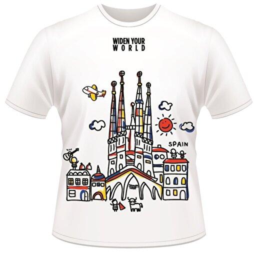 TK Collection Spain T-Shirt. ürün görseli