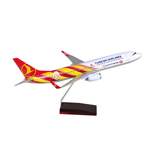 TK Collection B737-800 1/100 GS Model Uçak. ürün görseli